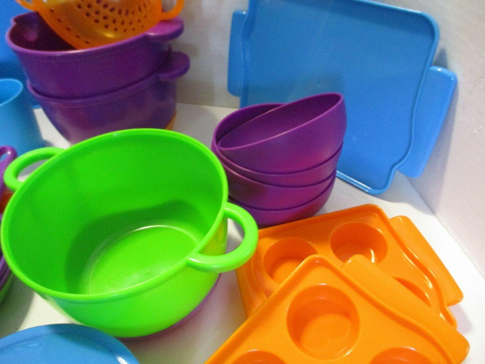 Learning ,Cooking Set, Piece Set,