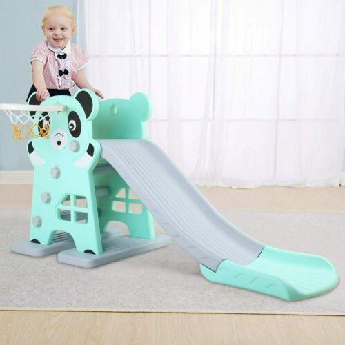 Toddler Play Slide Set Kid Indoor Playground Toy