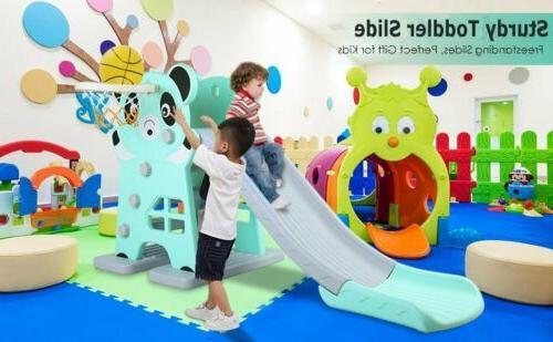 Large Toddler+Basketball Hoop Playset Playground