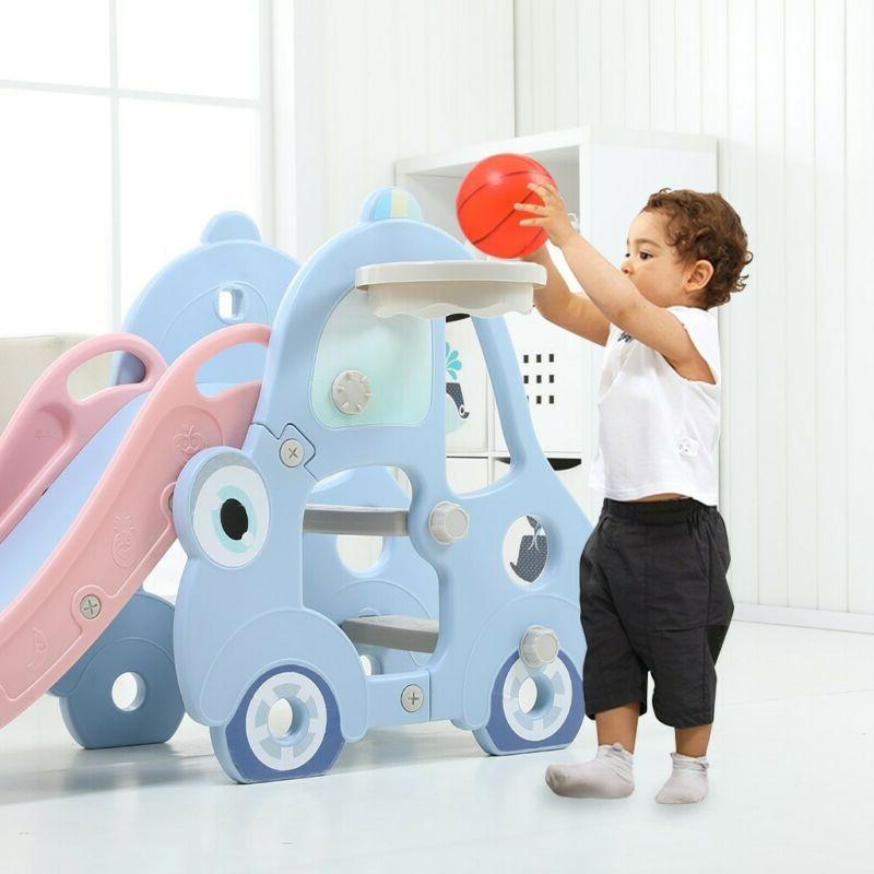 Indoor/Outdoor Playground Slide Play Swing Play set