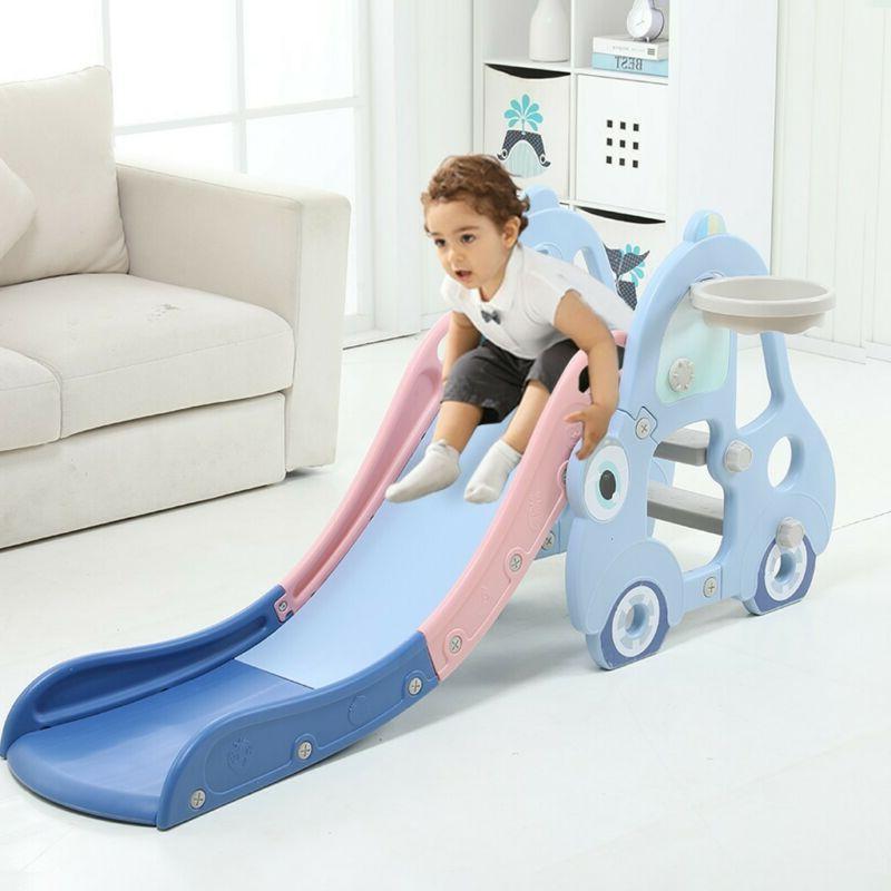 Indoor/Outdoor Slide Play Slide Kids Swing set Play set
