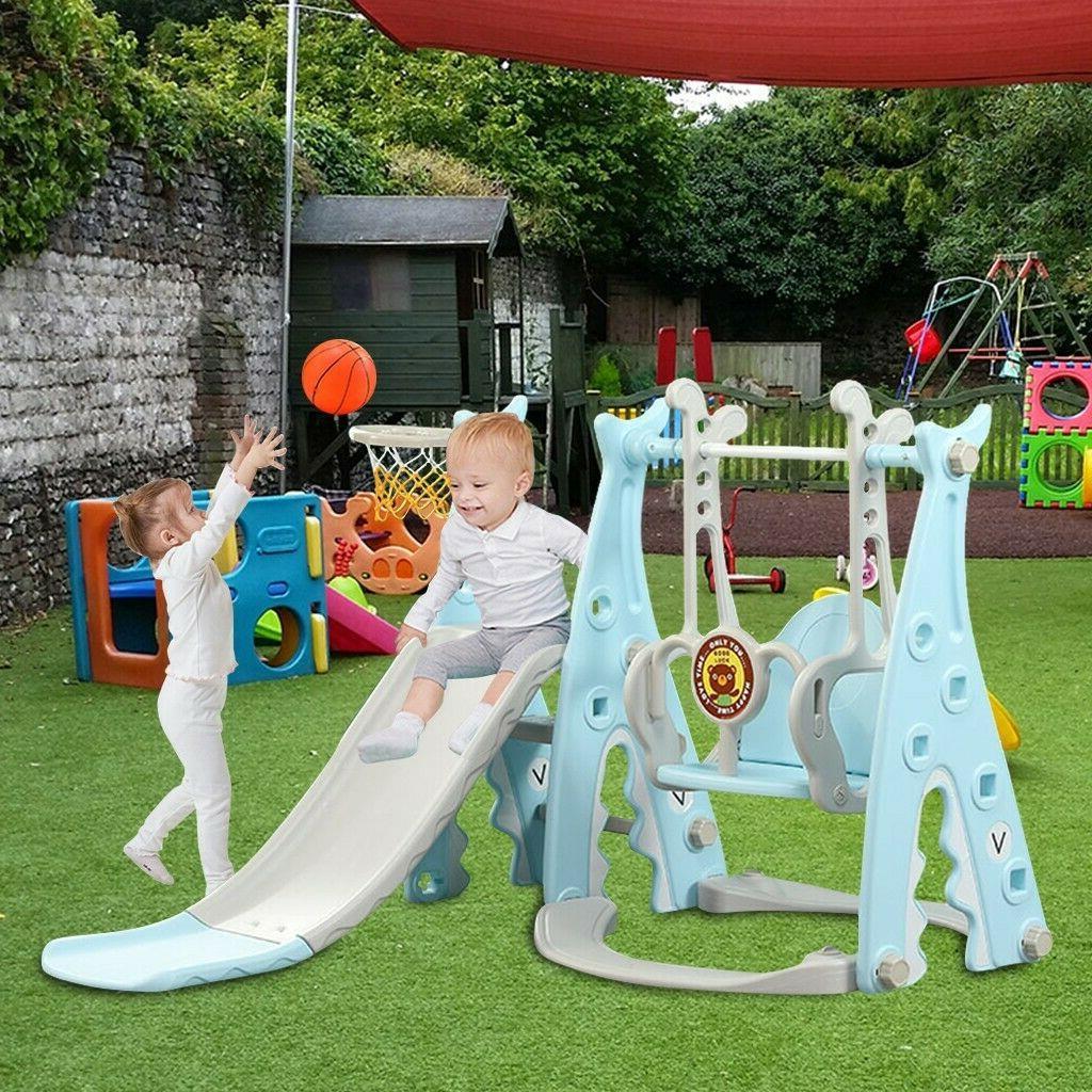 Kids Playground Climber & Slide Indoor Outdoor Backyard Play