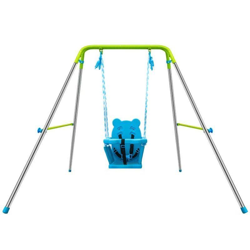 Indoor Outdoor Swing Set Play Toy Kids Rocker