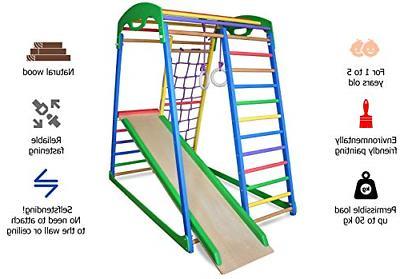 Indoor Playground Slide – Kids Jungle Gym –