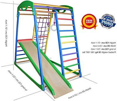 Indoor Playground Slide Gym Playset – Activity – -