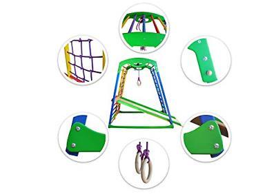 Indoor Playground Toddler Gym Playset – Activity –