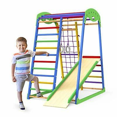 Indoor Playground Toddler Slide – Jungle Gym Playset – Activity Tod
