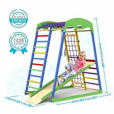Indoor Playground Toddler Slide – Gym Playset Tod
