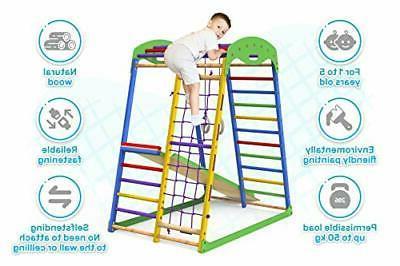 Indoor Playground Slide Kids Jungle Gym Playset Tod