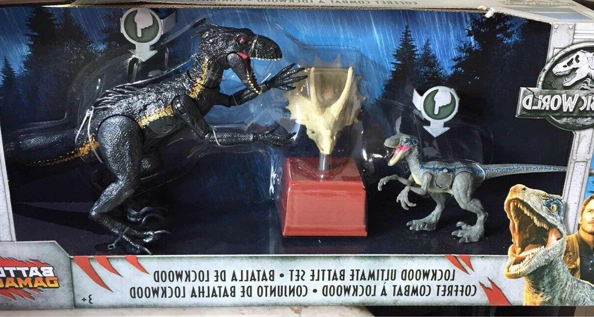 Jurassic Damage Lockwood Ultimate Battle Set Jurassic Park