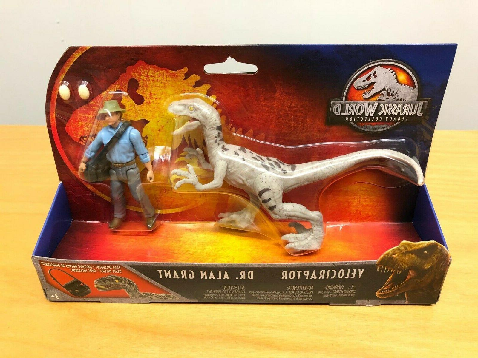 Jurassic Legacy Pack Dr. & !!