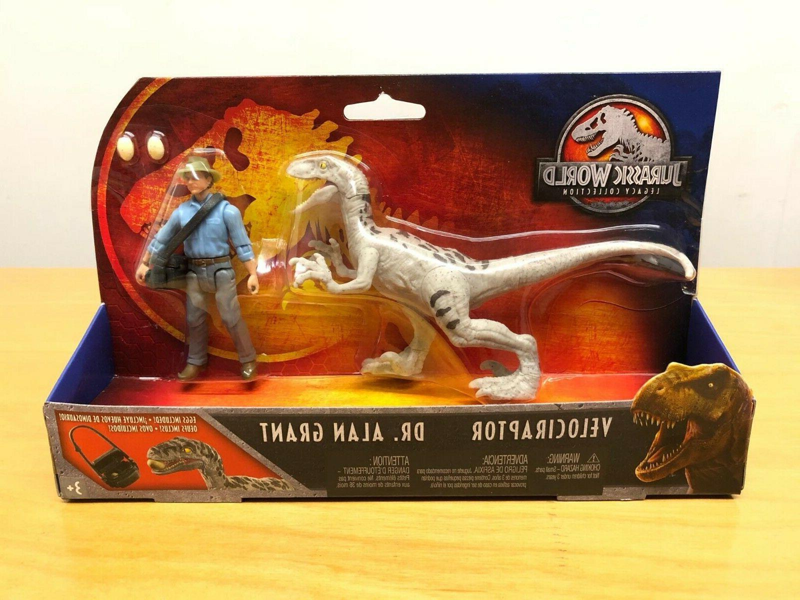 Jurassic Legacy Story Pack & Velociraptor !!
