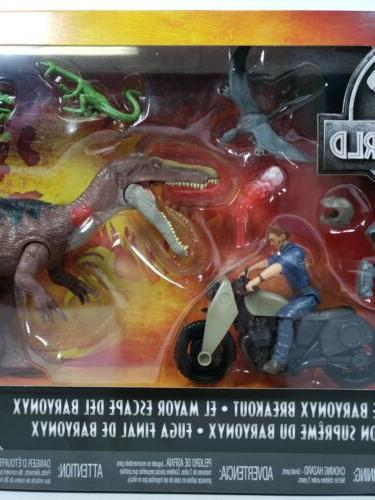 Mattel Jurassic World Park Dinosaur Breakout Battle Action Figure