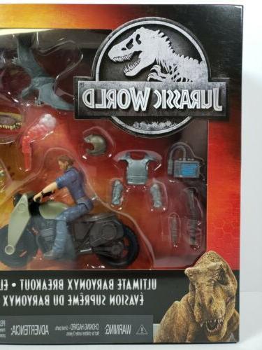 Mattel Dinosaur Breakout Battle Action PlaySet