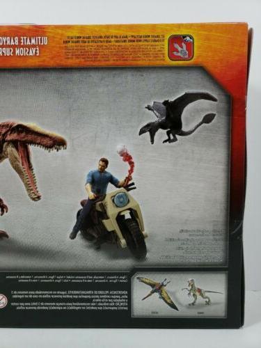 Mattel Jurassic World Park Dinosaur Battle Action