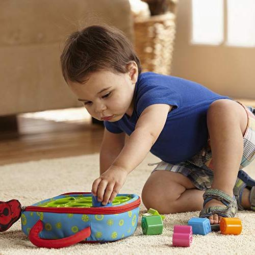 Melissa Kids Shape Baby Toy Activity Textured
