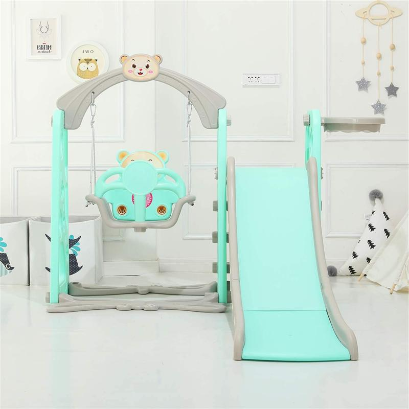 Kid in Play Slide Climber Playset Toy