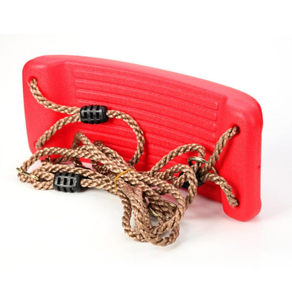 Kuulee Kid <font><b>Play</b></font> Game Toy <font><b>Swing</b></font> Seat Hard Bending Plate Rope