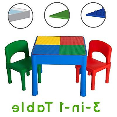 kids activity table set 3 in 1