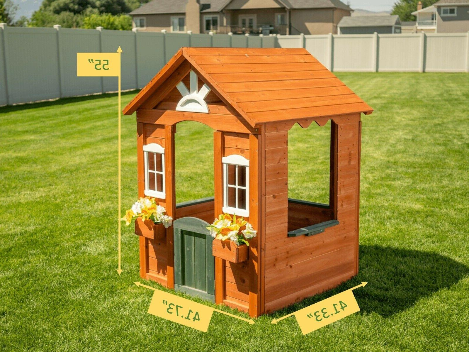 Playhouse Cottage Children Cute