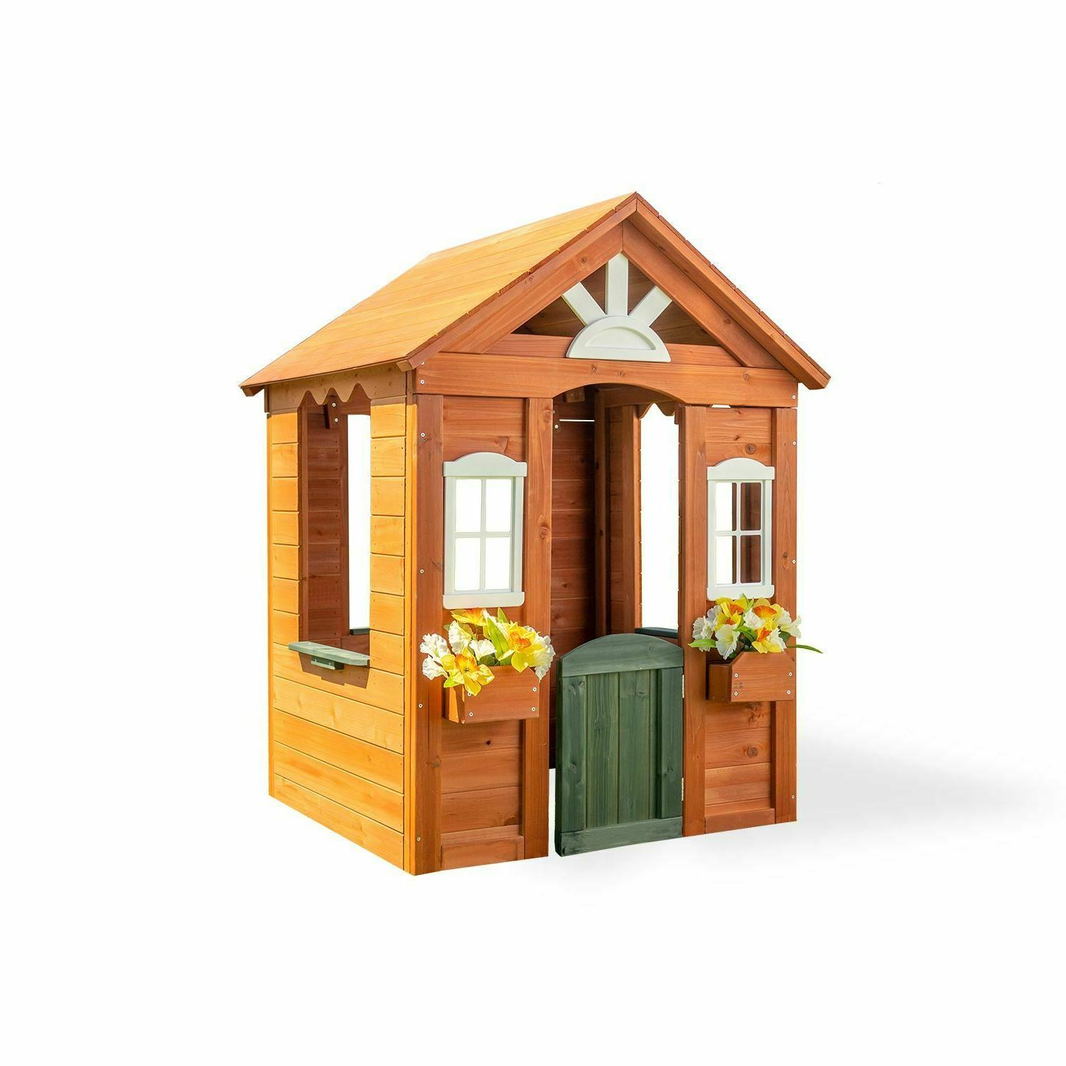 Kids Playhouse Backyard Playset Children House