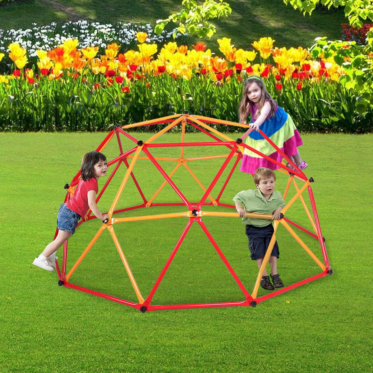 kids dome space climber playground play set
