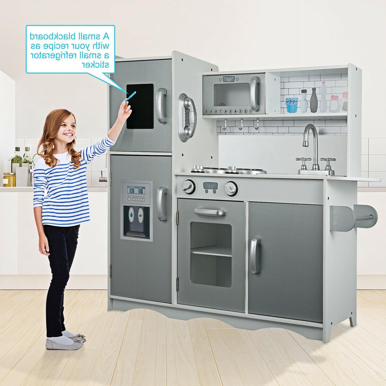 GOLDOROKids Kitchen Playset Kitchen for Fun with Kitchen