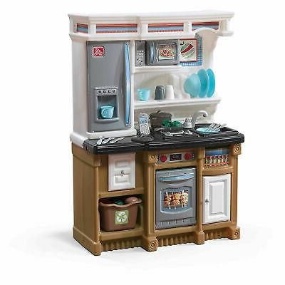 Kids Kitchen Playset Pretend Play Set Cooking Toys Children