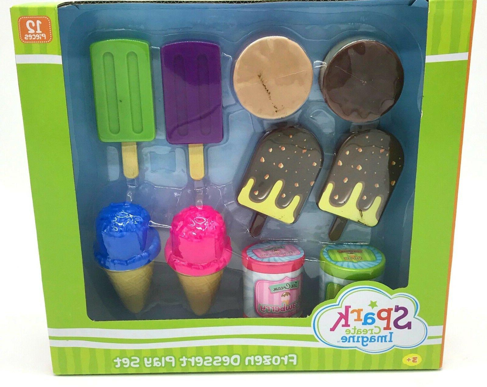 kids kitchen toy play set food pretend