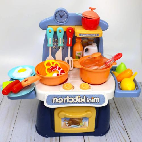 Kids Mini Playset with Realistic Lights