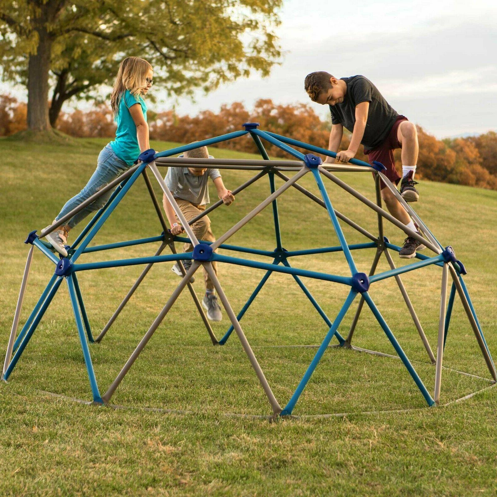 kids outdoor climbing play set backyard playground