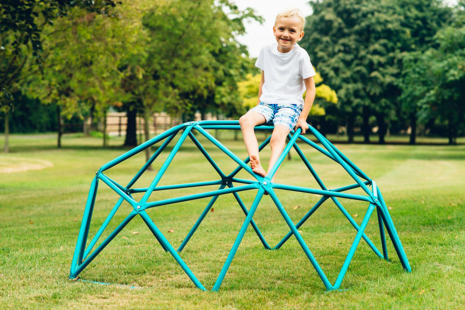 Kids Outdoor Climbing Set Playground Jungle Gym Dome