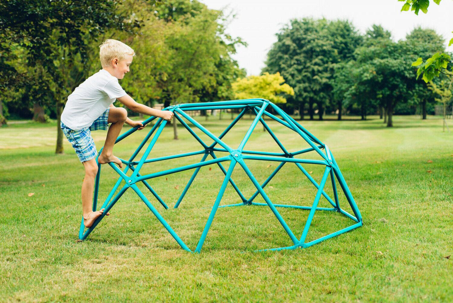 Kids Outdoor Set Backyard Jungle Gym Dome