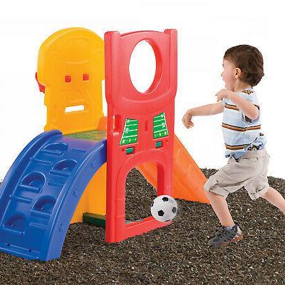 Kids Climber Slide Backyard Playset
