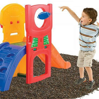 Kids Slide Outdoor Backyard Playset Children