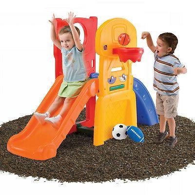 Kids Climber & Slide Indoor Outdoor Backyard Playset Children