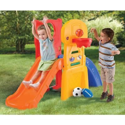 Kids Playground Climber Slide Playset Children
