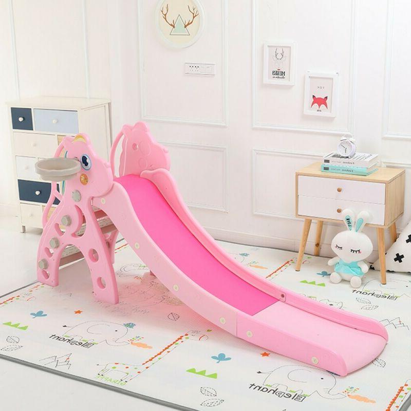 Toddler Slide Fun Outdoor Playground Home Toy