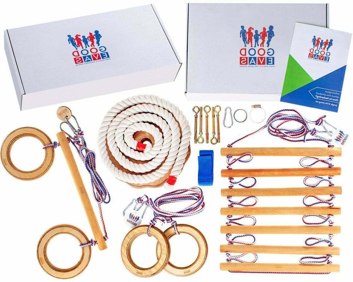 Kids playset Indoor outdoor playground equipment set