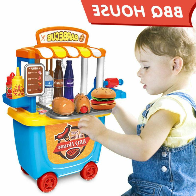 Kids Cooking Play Set BBQ Gifts33pc