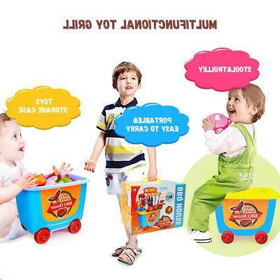 Kids Kitchen Set Toddler Playset
