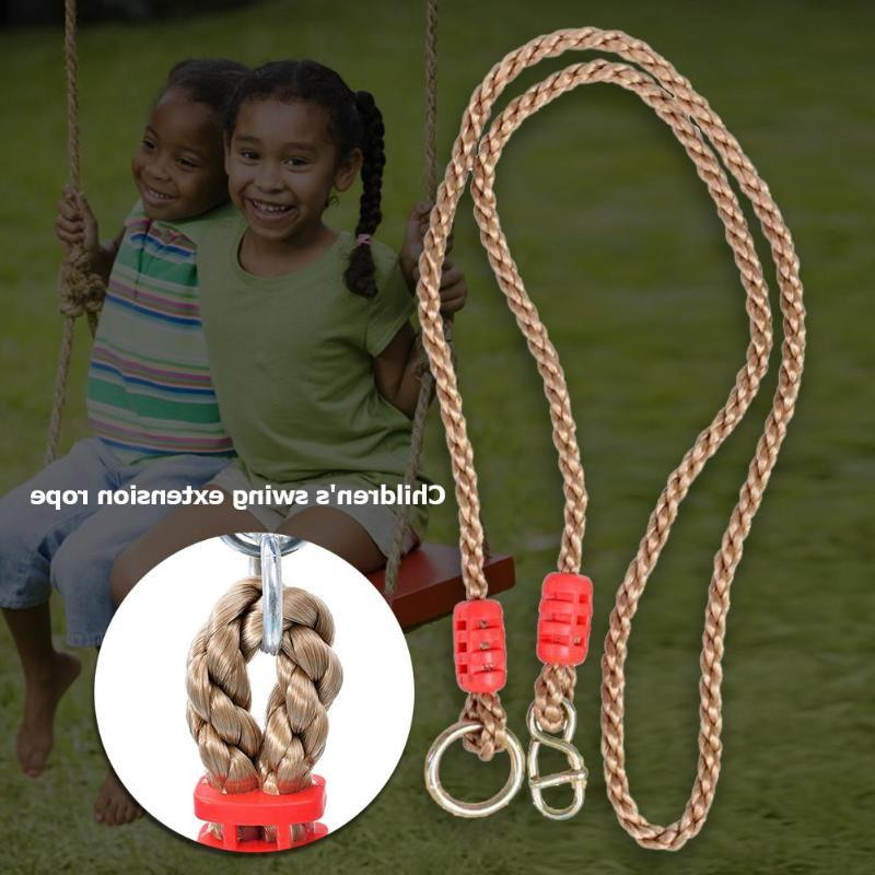 Rope Plastic Hanging Swingset Sports <font><b>Play</b></font> Toys Metal