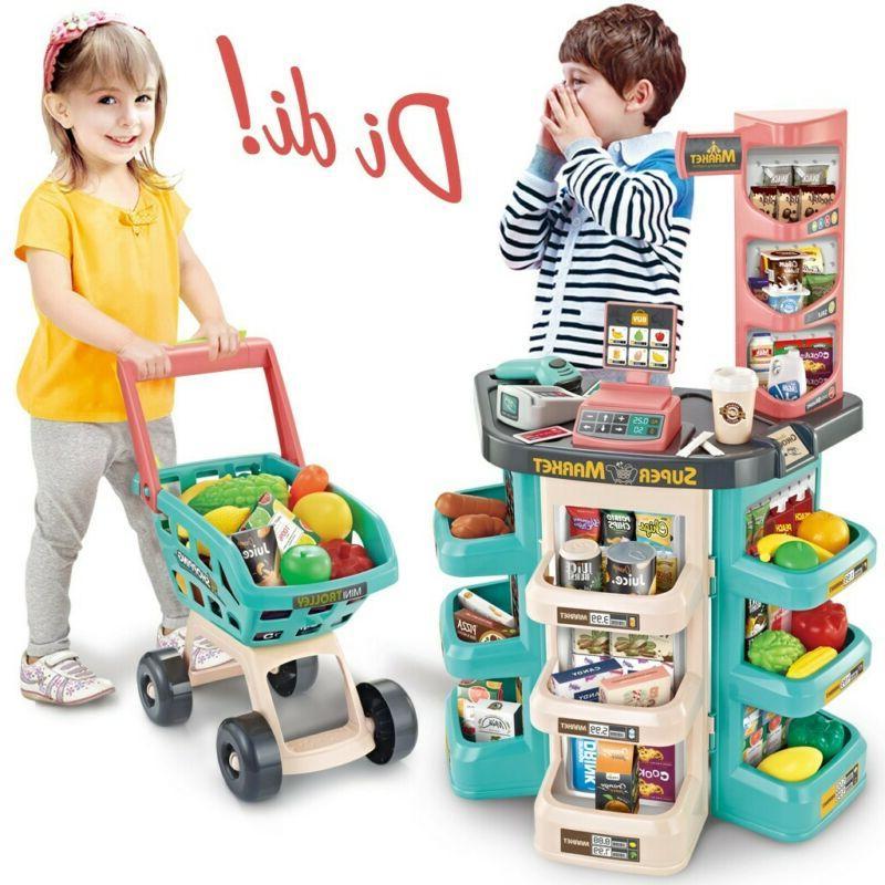 Kids Store Pretend Play Set Shopping