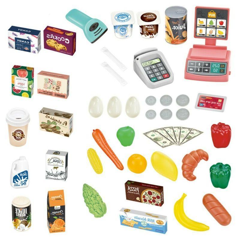 Kids Store Food Pretend Shopping Toys Market