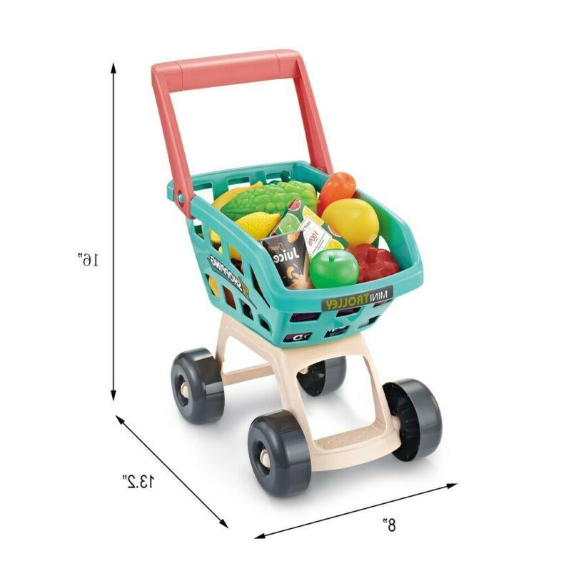 Kids Pretend Play Shopping Toys Market