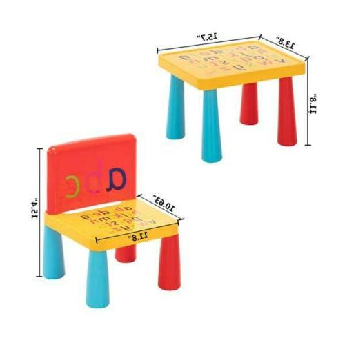 Kids Table and Play Set Child Toy Outdoor