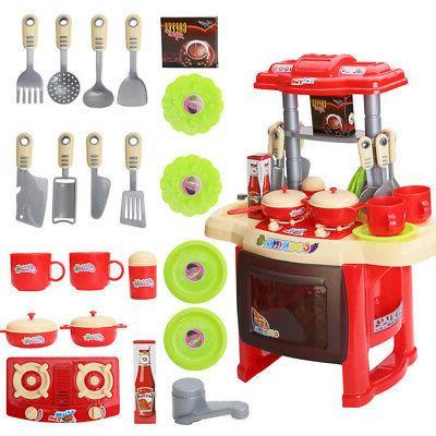 Kitchen Kids Toys Set for Girls Gift
