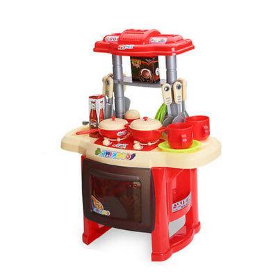 Kitchen Kids Pre-school Toys Play for Children Girls Gift