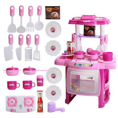 Kitchen Toys Cook Set for Children Gift