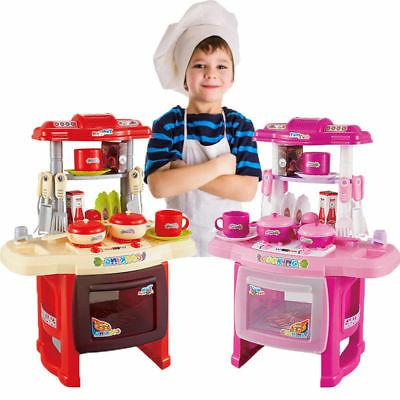 Kitchen Cooking Toys for Children Boys Girls Gift